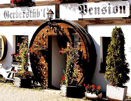 Eingang Pension & Gaststätte